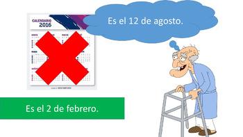 Spanish 1 - TPRS digital story - El Hombre Confundido - Sa
