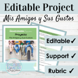 Spanish 1 Project for Introductions and Describing People