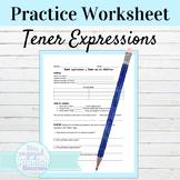 Spanish Tener Expressions and Tener Que Practice
