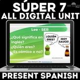 Spanish 1 Unit 1 High Frequency Verbs Present Tense Google