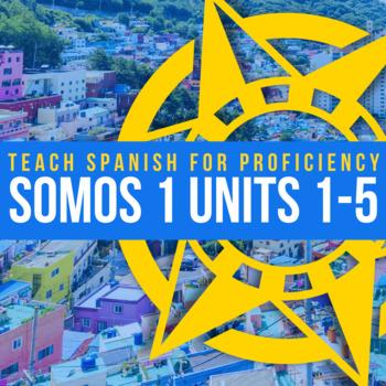 Spanish 1 Units 1 - 5 BUNDLE