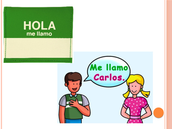 Spanish 1 Vocab PPT: Greetings, Introductions, Emotions, Weather, Class Objects