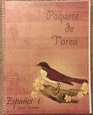 NEW Spanish 1: Workbook/Packet (Realidades + Santillana)