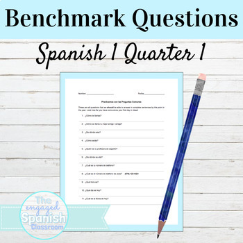 Spanish Can Do Questions for Level 1 Unit 1