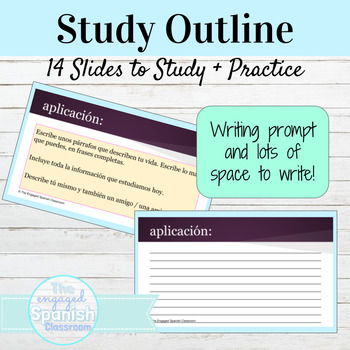 Spanish 1 Study Outline