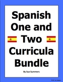 Spanish 1 and 2 Curriculum Supplements Bundle