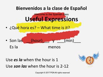 Spanish 1 basic bundle