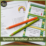 Spanish 1 natural approach:  weather tiempo, calendar, & seasons