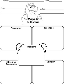 Spanish! 10 Different graphic organizers for early readers/writers