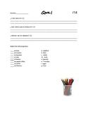 Spanish 10 Quiz