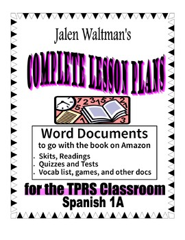 Spanish 1A 2005 for Middle School Supplemental Word Documents
