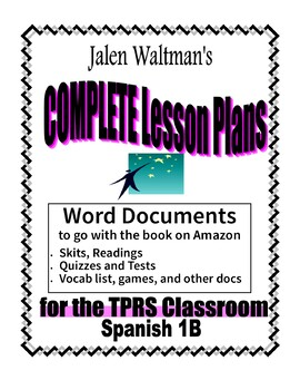 Spanish 1B 2005 for Middle School Supplemental Word Documents