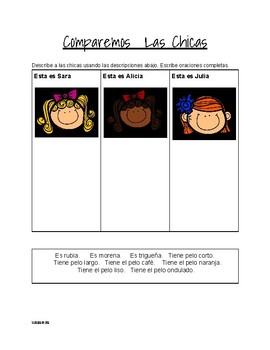 Spanish 1and 2 set of Activities