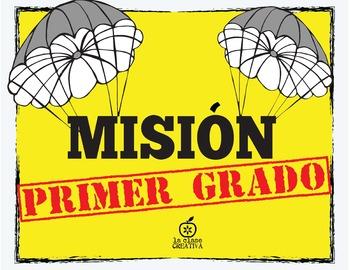Spanish 1st Grade Beginning of the Year Activity {Spy Them