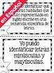 "Spanish 1st Grade TEKS ""Yo Puedo"" Statements Bundle- All 4"