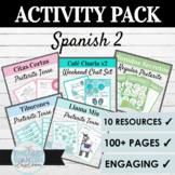 Spanish 2 Activity Sample Pack