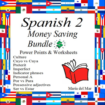Spanish 2 Bundle