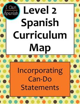 Level 2 World langauge Curriculum Map