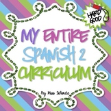 Spanish 2 Entire Curriculum - Hard Good