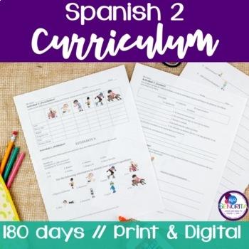 Spanish 2 Entire Curriculum