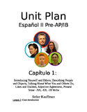 Spanish 2 Expresate 2 entire year lessons and resources (Chapters 1-8)