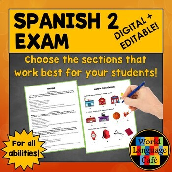 Spanish Midterm Exams Worksheets & Teaching Resources   TpT