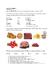 Spanish 2 Preterite/Food/Art vocabulary quiz U1 E3 En Espanol Series