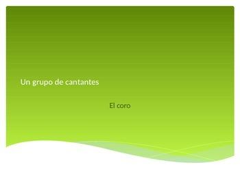 Spanish 2 Realidades 1B Vocabulary Practice