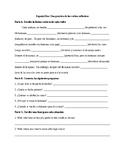 Spanish 2: Reflexive Verb Worksheet 3