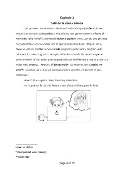 Spanish 2/3 Short Story: La cita inolvidable + Activities FVR/Class Story