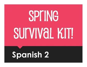 Spanish 2 Spring Survival Kit