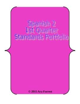 Spanish 2 Standards Portfolio - Ven Conmigo
