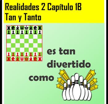 Spanish 2 Tan/Tanto Practice