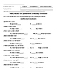 Spanish 2, Unit 1.1 Student Notes (direct, indirect objects)
