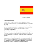 Spanish 2 Vamos a Madrid ! Reading Comprehension