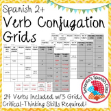 Spanish 2 - Verb Conjugation Grids!