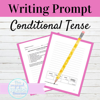Spanish Conditional Tense Writing Prompt