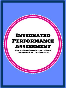 Spanish 2 or 3 Integrated Performance Assessment IPA Novice- Interm