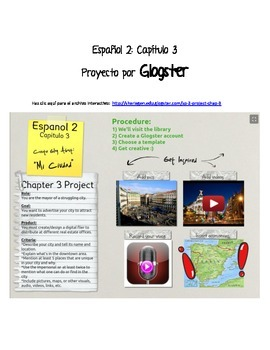 Spanish 2 project (places around your town/city)