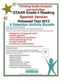 Spanish 2013 STAAR Analysis and Activities Bundle, Grade 4 Reading