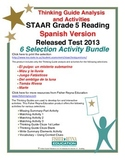 Spanish 2013 STAAR Analysis and Activities Bundle, Grade 5 Reading