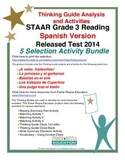 Spanish 2014 STAAR Analysis and Activities Bundle, Grade 3 Reading