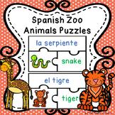 Spanish Sight Words Activity Spanish Animals Spanish Game ELL ESL Newcomer