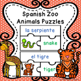 Spanish Sight Words Activity Spanish Animals Spanish Game ELL ESL Newcomer