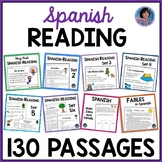 Spanish Reading Comprehension Passages with Text Based Questions