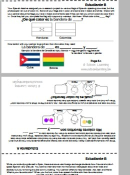 Spanish Lesson and Activities on Colors