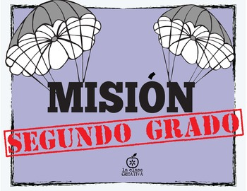 Spanish 2nd Grade Beginning of the Year Activity Spy Themed, Editable