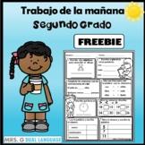 Spanish 2nd  Grade  Daily Review   Tarea de Segundo Grado