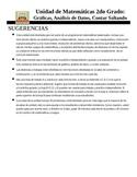 (Spanish) 2nd grade Data Analysis, Graphing and Skip Count