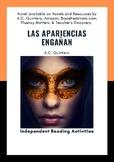 Spanish 3/4 Novel (20act.) Las apariencias engañan FVR/Lit Circles/Activities/